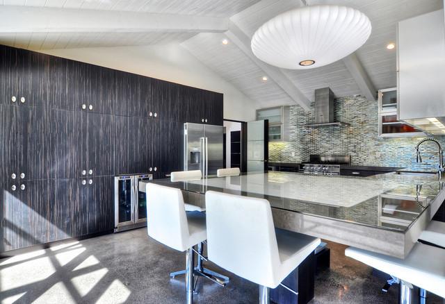 m.a.p. interiors midcentury-kitchen