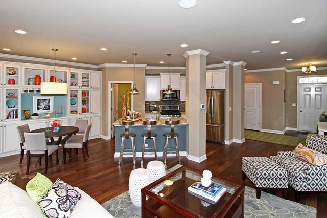 M/I Homes of Chicago: The Orchards - Braeden Model transitional-kitchen