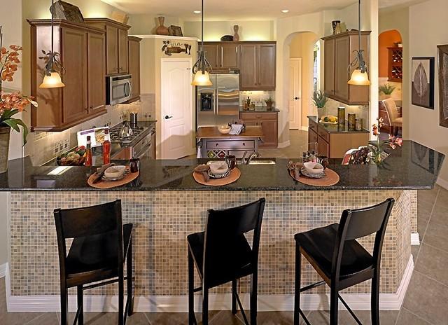 M/I Homes of Houston: Sienna Plantation - Alexandria Model contemporary-kitchen