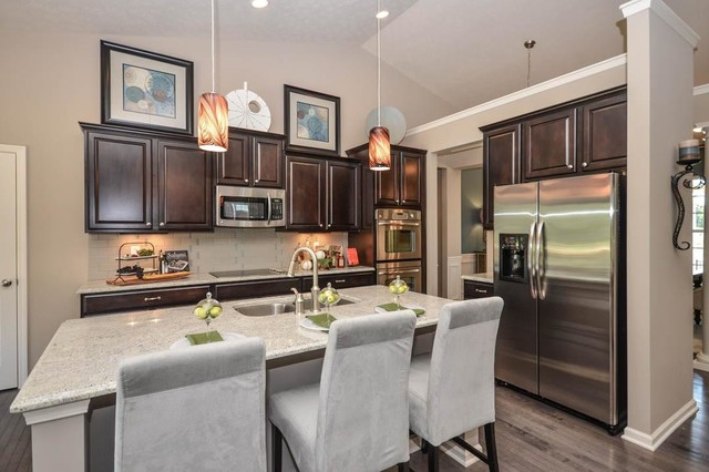 M/I Homes of Indianapolis: Ambria - Clayton Model traditional-kitchen