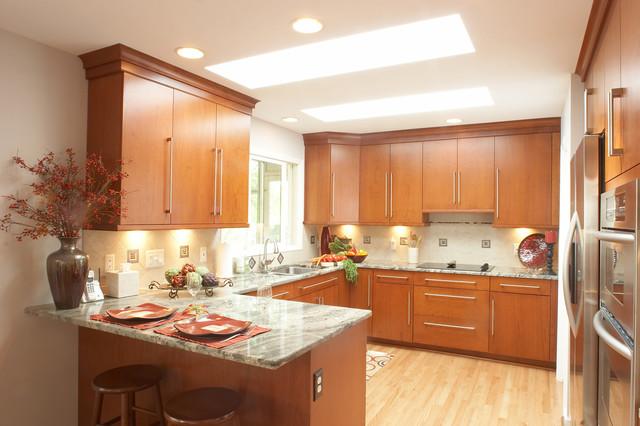 MJ Whelan Construction Contemporary Kitchen Detroit by