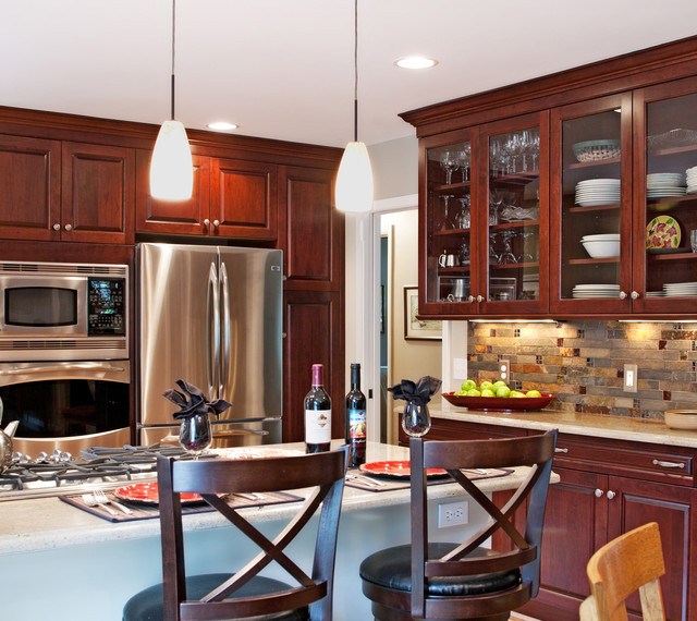 Kitchen Countertops And Backsplash Photos: M.J. Whelan Construction