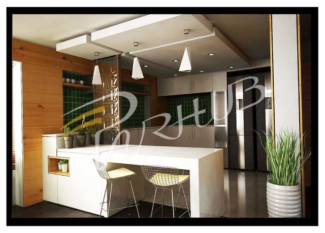 m.rahmatikhah contemporary-kitchen