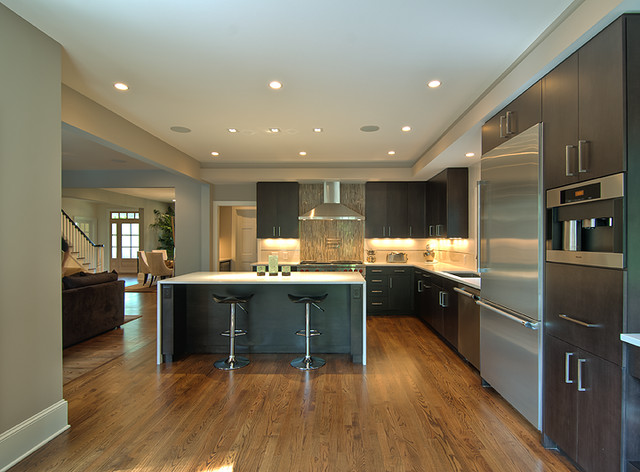 M5 House contemporary-kitchen