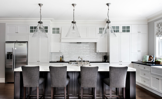 MA Residence transitional-kitchen