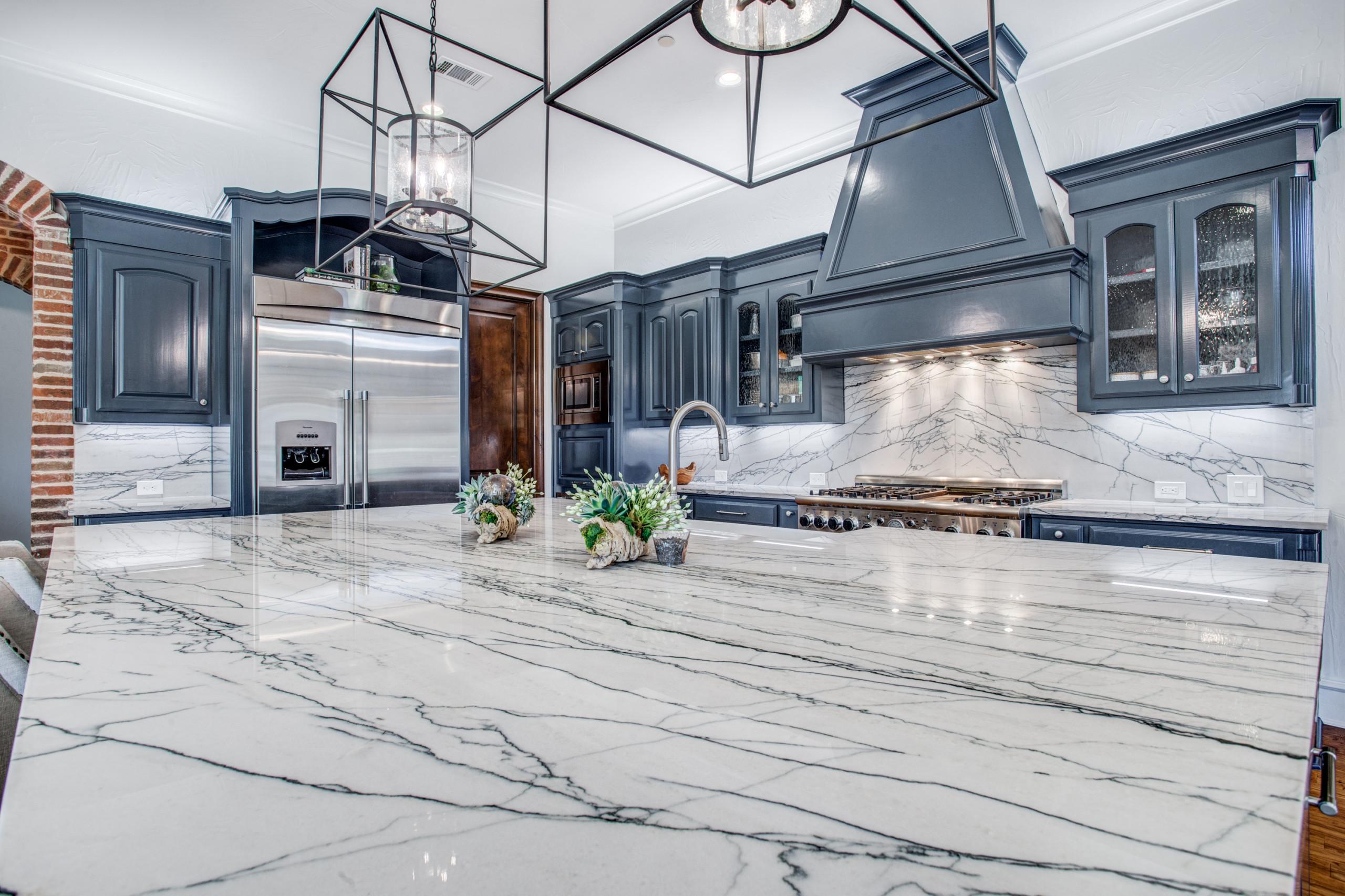 Macaubas Quartzite Kitchen