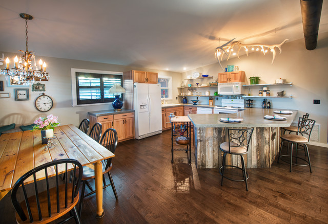 Madeline 39 s beach house rustic kitchen other metro by dwayne bergmann llc Kitchen design center virginia beach