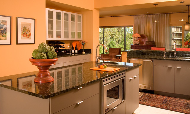 Madison Park Penthouse Traditional Kitchen Seattle By Faith Sheridan