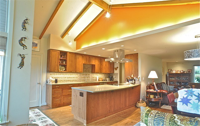 Madison Park Remodel Contemporary Kitchen Seattle By Bennion Construction Carpentry