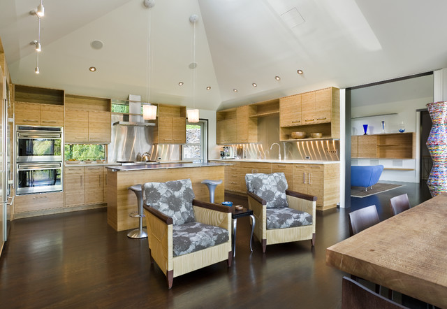 Madison Park Remodel Contemporary Kitchen Seattle By Prentiss Balance Wickline Architects