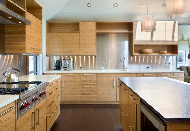 Madison Park Remodel - Contemporary - Kitchen - Seattle - by Prentiss Balance Wickline Architects