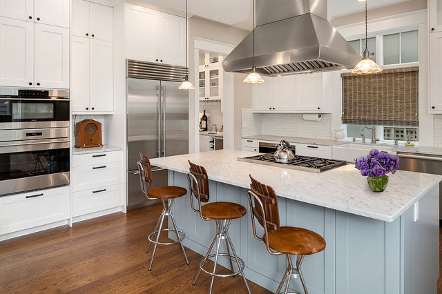 Madison Park Residence 3 Country Kitchen By Jacob Alexander Homes