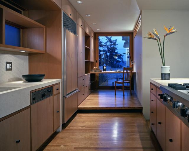 Madison Park Residence Modern Kitchen Seattle By David Coleman Architecture