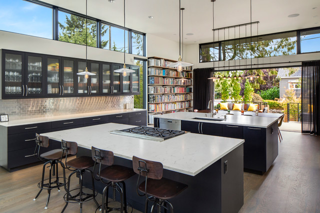 Madison Park Residence Modern Kitchen Seattle By Jacob Alexander Homes