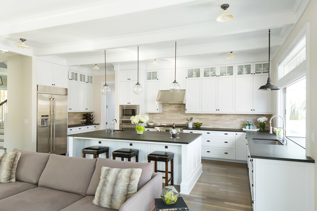 Madison Park Traditional Transitional Kitchen Seattle By Paul Moon Design
