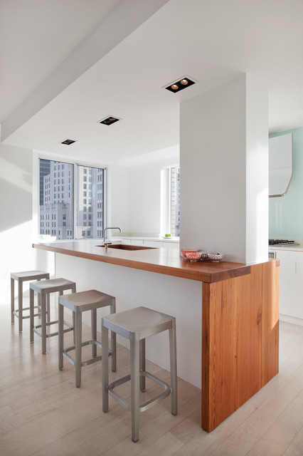 Madison Square Apartment Modern Kitchen New York