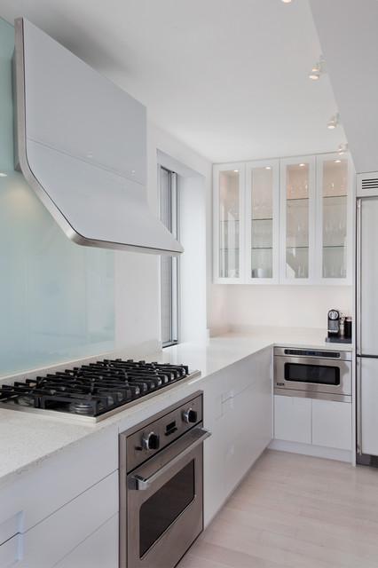 Madison Square Apartment modern-kitchen