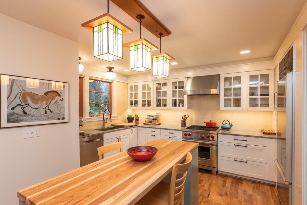 Madrona Craftsman kitchen