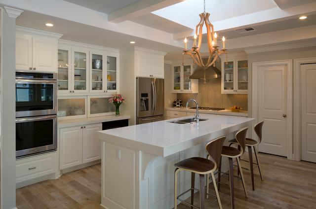 Madrona Residence - Kitchen after Renovation transitional-kitchen