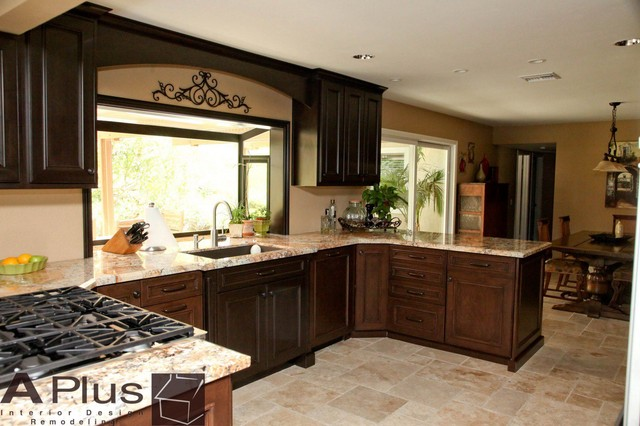 Madruga - Traditional - Traditional - Kitchen - Orange County - by APlus Interior Design ...