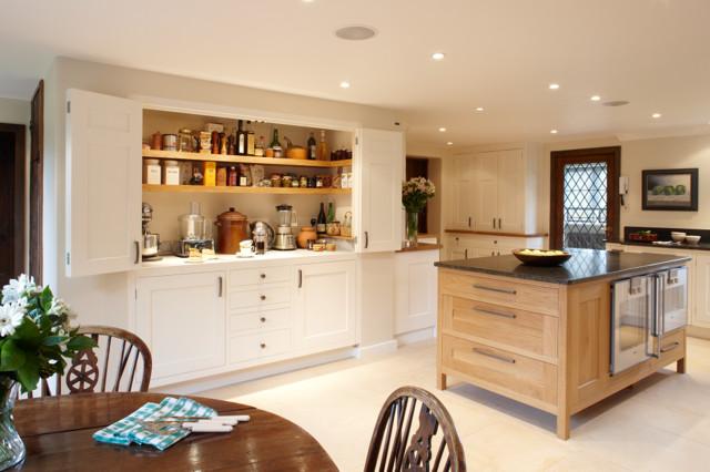 Magnificent Larder Kitchen Modern Kitchen South East