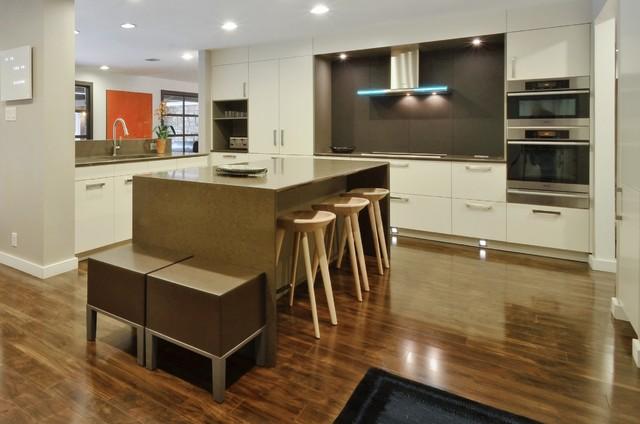 Matte Lacquer Open-Concept / Arete Kitchens, ALNO contemporary-kitchen