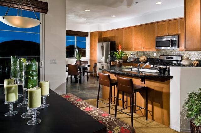 Magnolia Court contemporary-kitchen