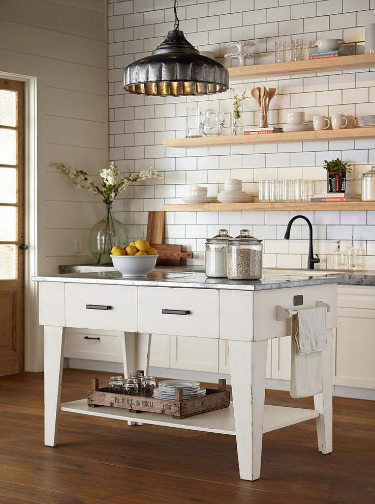 Magnolia Home Kitchen Island Jo S White Farmhouse Kitchen Houston By Star Furniture Houzz