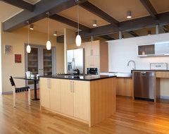 Magnolia Mid-Mod midcentury-kitchen