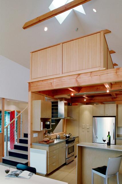 Magnolia Residence - Seattle, WA « DAVID VANDERVORT ARCHITECTS modern-kitchen