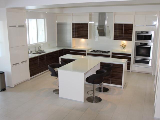 Magrath modern kitchen edmonton by eurolux for C kitchens ltd swanage