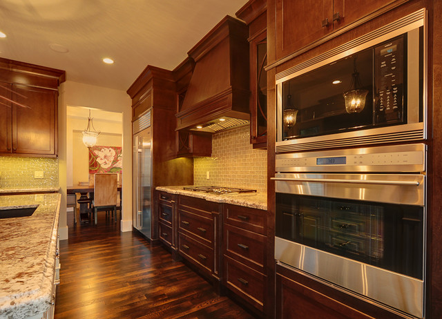 Maillot Homes Elkton Pointe Estates Show Home traditional-kitchen