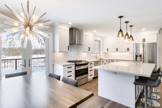 Main Floor Renovation Aurora Ontario, Kitchen Cabinets Aurora Ontario