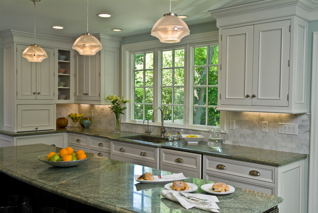 Main Kitchen Sink Run Traditional Kitchen Boston By Westborough Design Center Inc