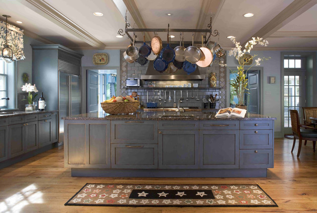 Main Line Chef's Kitchen Design - Traditional - Kitchen - philadelphia - by Meadowbank Designs