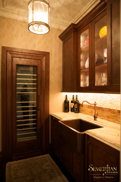 Main Line Homes traditional-kitchen