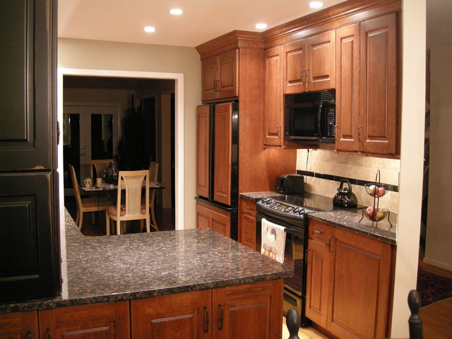 beautiful Townhouse Kitchen Remodel #3: Main Line Townhouse Kitchen Remodel (2) traditional-kitchen