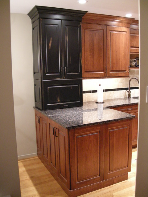 Main Line Townhouse Kitchen Remodel 2 Traditional Kitchen Philadelphia By L Designs