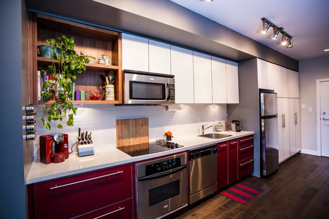 Main St Eclectic Modern Contemporary Kitchen Vancouver By Beyond Beige Interior