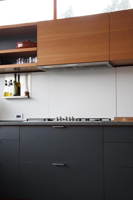 Main street house modern kitchen seattle by for Modern kitchen cabinets seattle