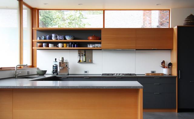 Main street kitchen moderno cocina nueva york de - Instaladores de cocinas ...