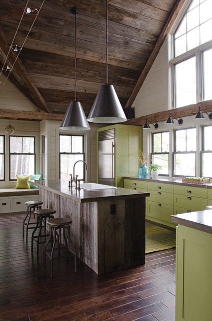 Maine Home contemporary-kitchen