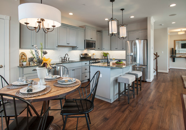 Mainland Square Transitional Kitchen Philadelphia By W B Homes Inc