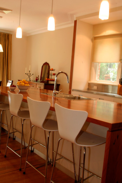 Making More Room Transitional Kitchen Sydney By Inside Out Colour And Design