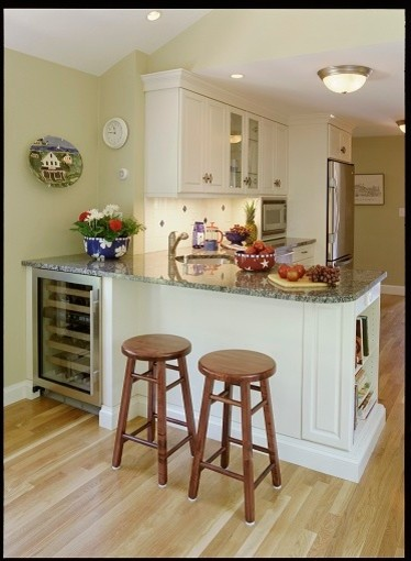 Making Small Spaces Work - traditional - kitchen - boston - by