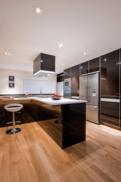 Mal Corboy Cabinets, Exclusive North America Distributor - Mega Builders modern-kitchen