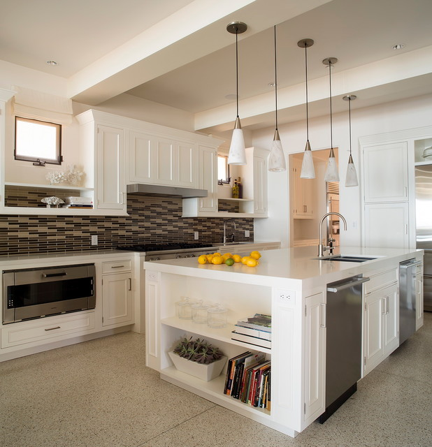 Malibu Renovation Transitional Kitchen Los Angeles