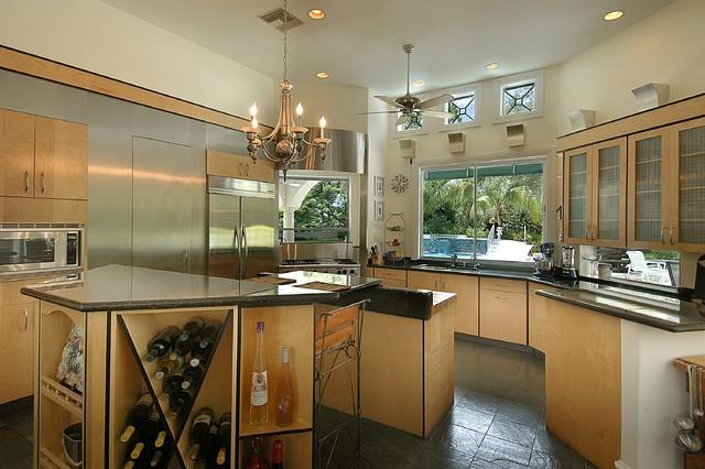 Malibu West Interiors, Naples, Florida contemporary-kitchen
