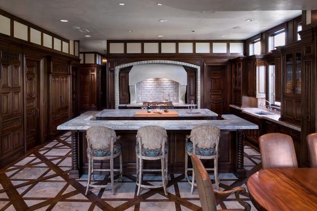 Malinard Manor - Kitchen traditional-kitchen