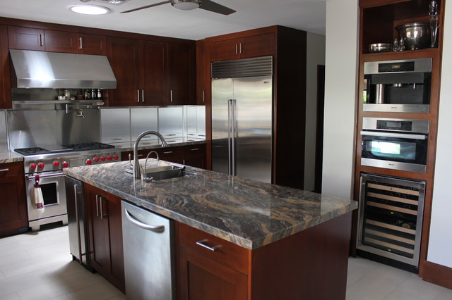 Man Cave Kitchen : Man cave contemporary kitchen miami by moreland
